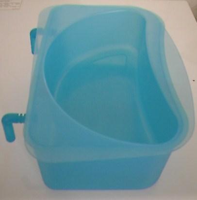 Boite de rangement bleue pour table langer ikea centerblog - Boite table a langer ...